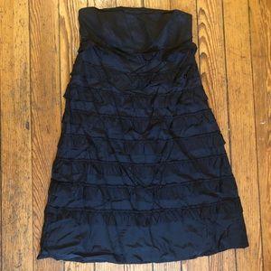 Strapless ruffle dress!